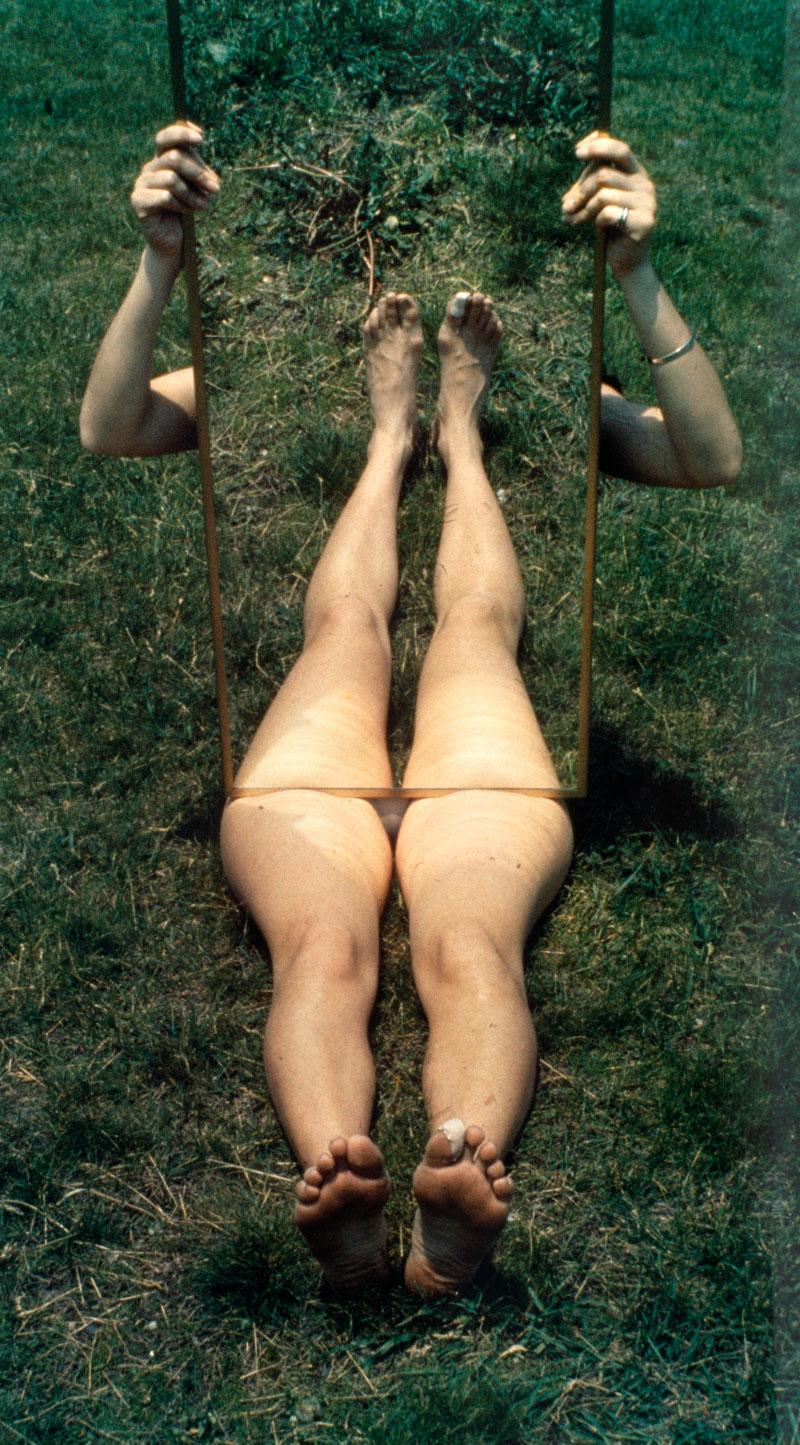 Joan Jonas - Mirror piece I 1969
