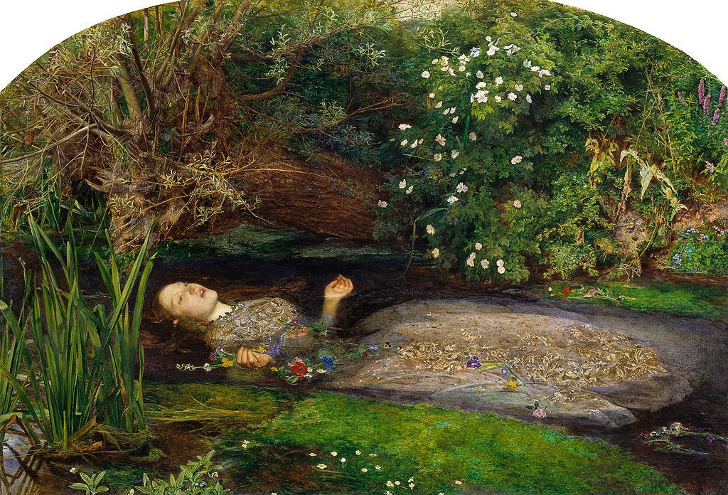 Ophelia von John Everett Millais