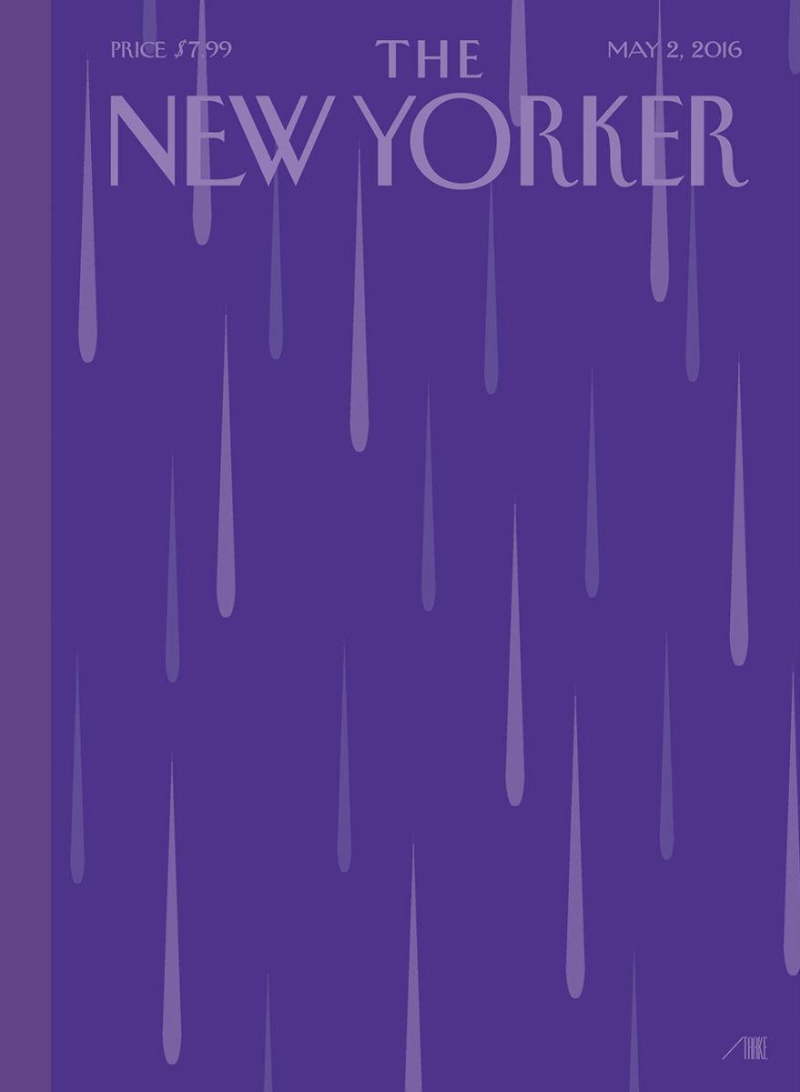 Das Cover des New Yorkers vom 2. Mai 2016
