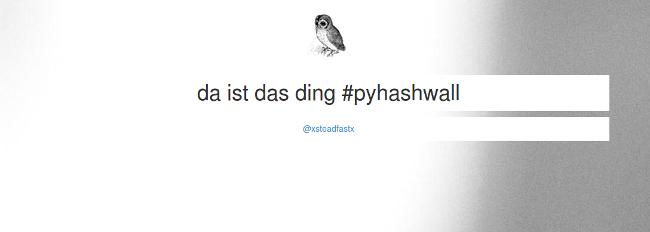 pyhashwall